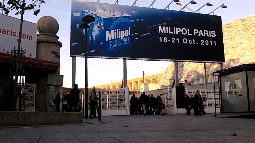 Pn le salon milipol 2011 comme si vous y etiez videos de for Salon milipol