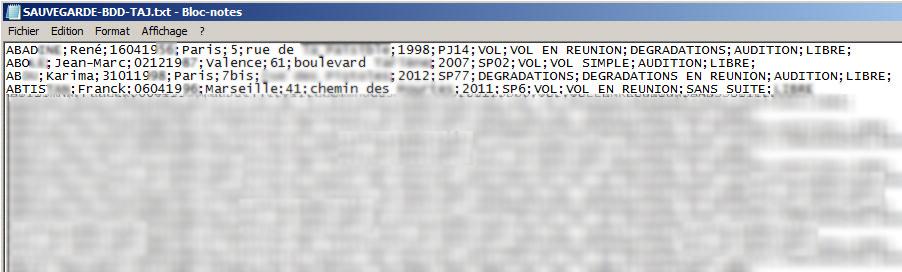 logiciel stic police